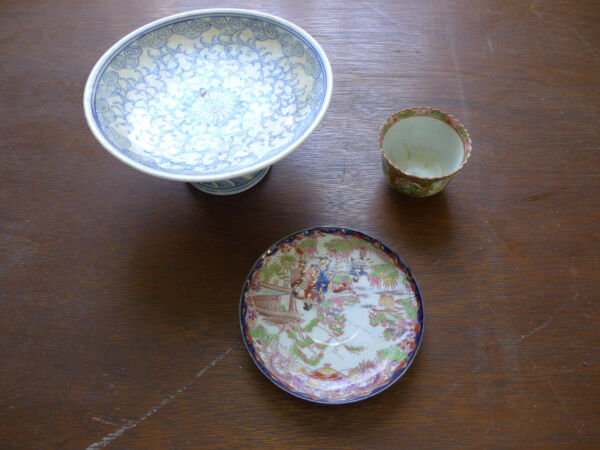 ANTIQUE esTaTe SaLe fourth gEnEraTiON FaMiLly owned ♡ ORIENTAL BUFFET DISHES