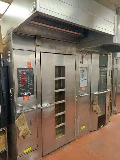 Hobart Natural Gas HBA1G Single Rack Grocery Bakery Roll In Convection Oven $5000.00