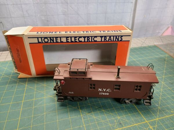 Vintage Lionel New York Central Wood Sided Caboose 6 17600 w Box $35.00