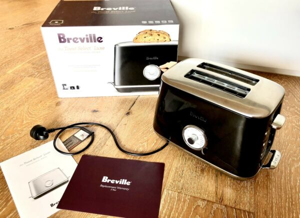 Breville The Toast Select Luxe Black Toaster Rp:$199.99