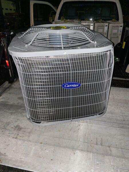 Carrier 1.5 Ton 16 SEER Air Conditioning Condenser CA13NA018BNG Scratch amp; Dent $495.00