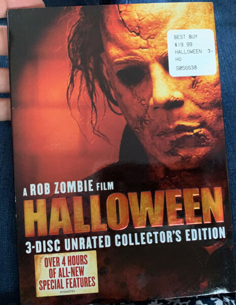 1877 Halloween Rob Zombie 3 Disc Unrated Collector#x27;s Edition DVD Brand New