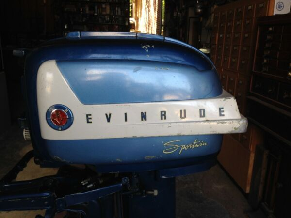 Evinrude Outboard Vintage Twin $499.00