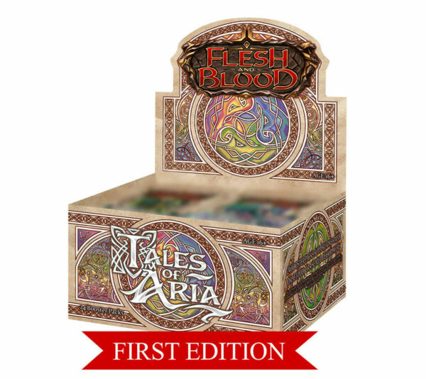 Tales of Aria 1st Edition Booster Box Flesh and Blood TCG Brand New $136.99