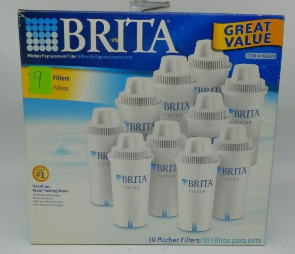 Brita Replacement Water Pitcher Filters 9 Filters
