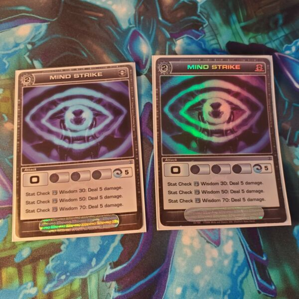 Chaotic Mind Stike Promo common Lot Ccg Tcg