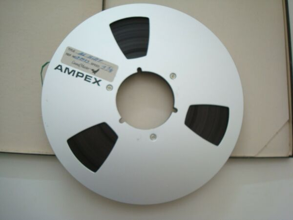 Ampex Grand Master 1 4quot; tape on 10.5quot; metal reel
