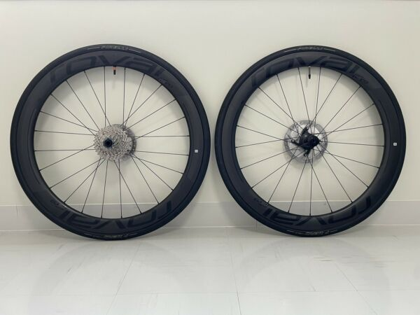 Roval CL 50 Rapide Disc Shimano 11spd Carbon Clincher Tubeless Rdy Wheelset 700c $1650.00