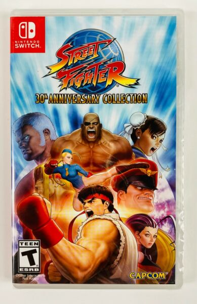 Nintendo Switch Street Fighter 30th Anniversary Collection Brand New $20.99