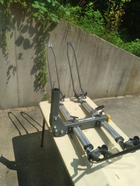 SOFTRIDE Hitch Mount Bike Rack 2 Bicycle Carrier 2quot; Receiver with lock pin $125.00