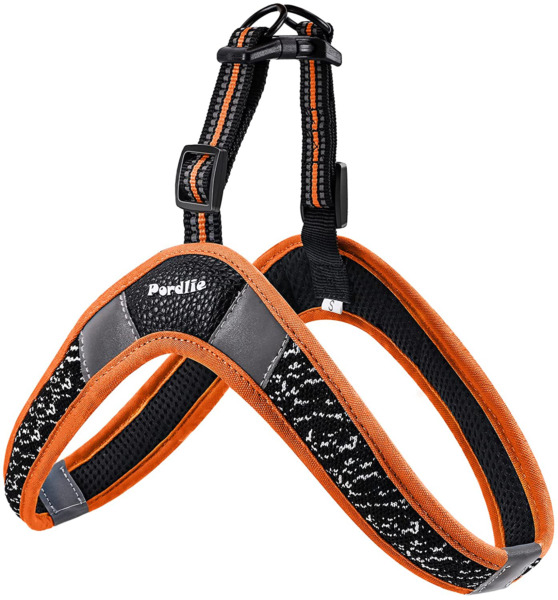 Pordlie Dog Harness No Pull Easy On and Off Ultra Soft Breathable Padded Pet Ve $24.48