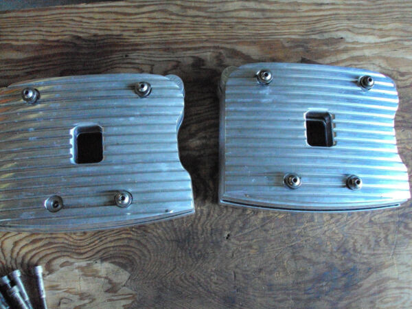 Merch Billet Harley Evo Big Twin Finned Rocker Boxes Arms Shafts Covers Samp;S $330.00