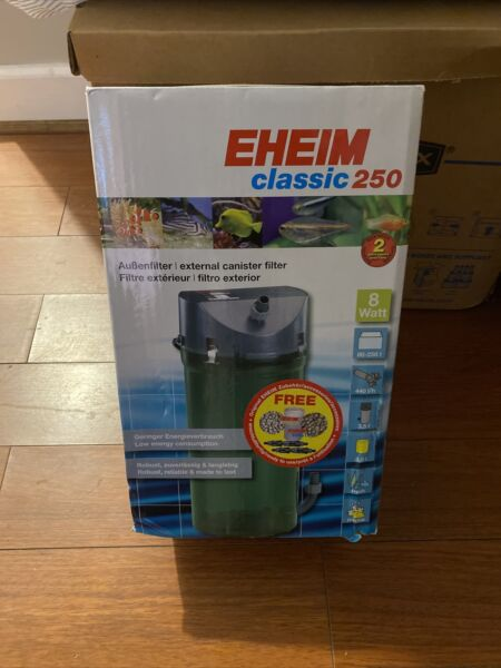 Brand New Retail Sealed EHEIM Classic Canister Filter 2213 Classic 250 $75.00