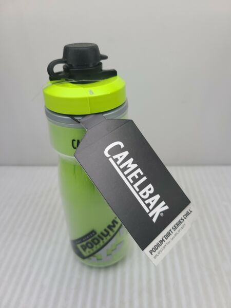 Camelbak Podium Dirt Series 21oz Bike Bottle Lime Green New with Tags $10.50