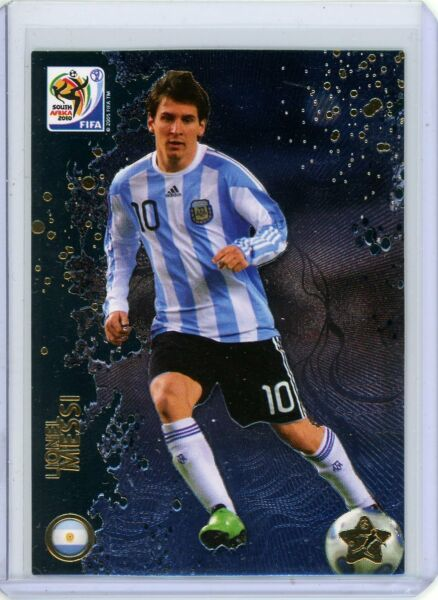 2010 Panini World Cup South Africa LIONEL MESSI #44 PSG Argentina