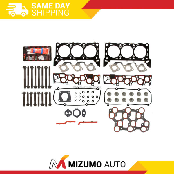 Head Gasket Bolts Set Fit 01151998-04 Ford Mustang F150 3.8 4.2 OHV VIN 2 4 6
