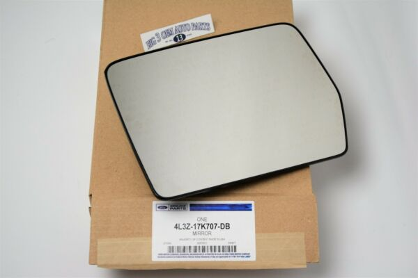 2004 - 2010 Ford F-150 LH Drivers Side View Power Heated Mirror Glass OEM