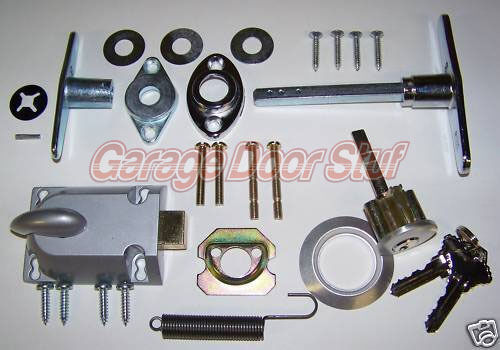 Garage Door Lock Cylinder amp; T Handle Kit $23.99