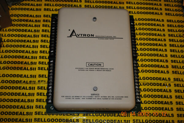 Avtron K341 Master Frequency Reference D10272 Used