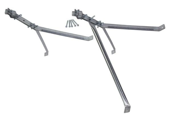 24quot; Stand Off Wall Antenna Mast Mount Deluxe Y Style Bracket EZ 30 24 $49.00