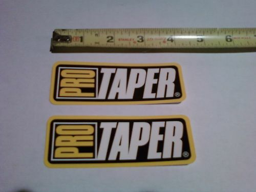 2 Pro Taper Decals Stickers Suspension Bars Bike ATV