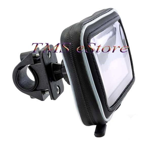 Waterproof Case amp; Motorcycle Handlebar Mount for Garmin nuvi 1490 LMT 5quot; GPS WPC $26.54