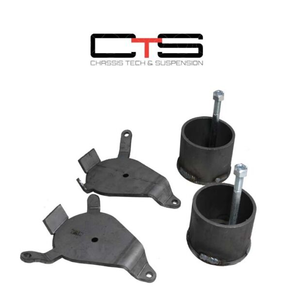 S-Series FRONT SUSPENSION AIR BAG BRACKETS Ride Cups Lowered Bagged