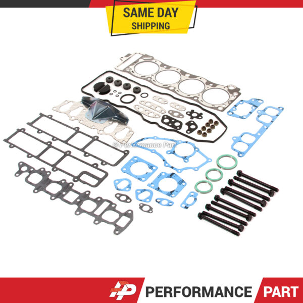 85-95 Toyota Pickup 4Runner2.4L SOHC 22R 22RE 22REC Head Gasket Bolts Set