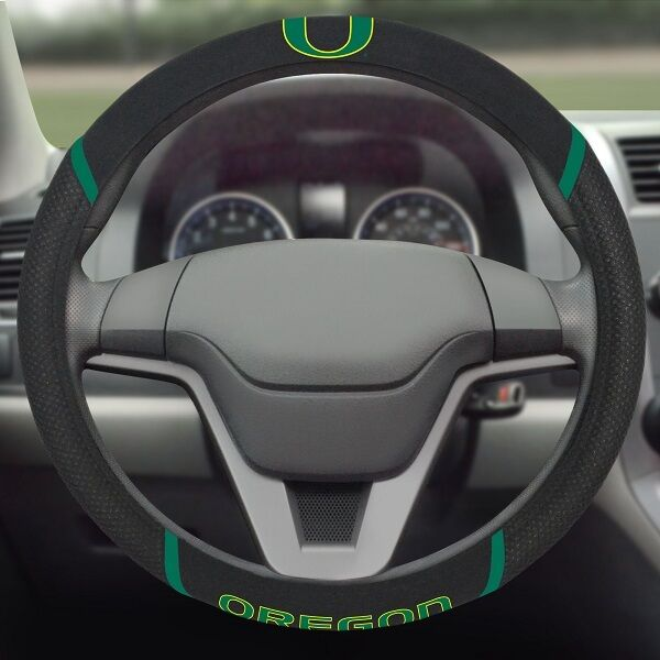 Oregon Ducks Embroidered Steering Wheel Cover