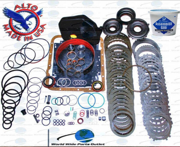 GM 4L60E Transmission Powerpack Rebuild kit 1997-2003 Stage 5 With 3-4 Powerpack