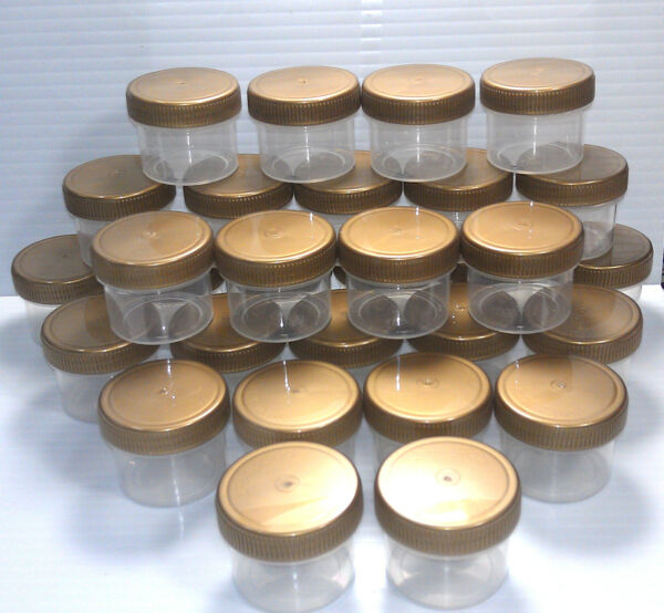 96 NEW Small Jars candy nut containers Tailgate School Parties  DecoJars K4304