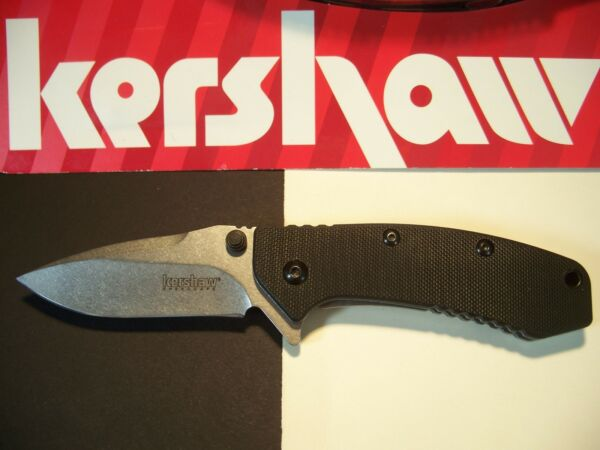 KERSHAW - CRYO Hinderer G-10 stonewash Assist SPEEDSAFE FLIPPER ao Knife 1555G10
