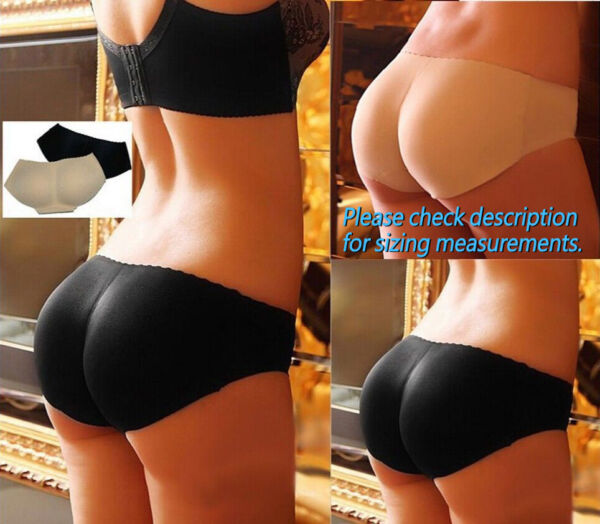 Women#x27;s Padded Hip Enhancer Butt Lifter Body Shaper Underwear Panties Shapewear
