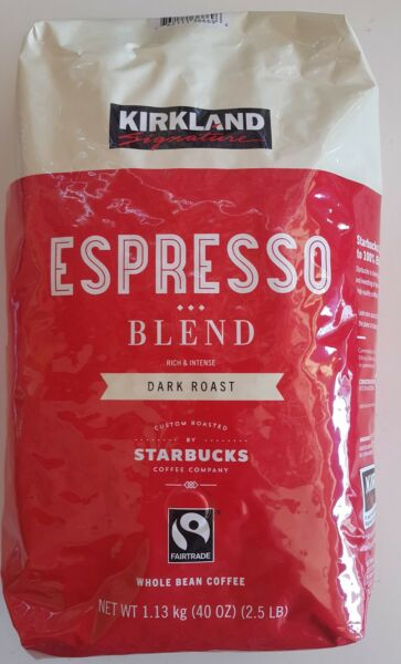 2 lb Bag Espresso Blend Whole Bean Coffee Dark Roast by StarbucksRichIntense