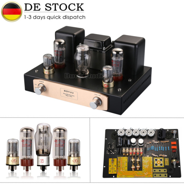 EL34 Klasse A Röhrenverstärker Hi-Fi Single-Ended Tube Stereo Amplifier DIY Kit
