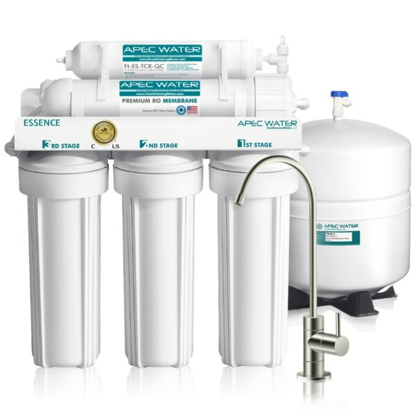 APEC WATER SYSTEMS 5 Stage 50 GPD Reverse Osmosis Water Filter System ROES-50