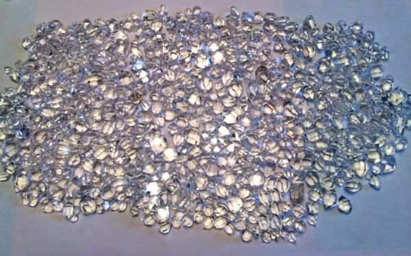 Wholesale Genuine NY Herkimer Diamond FLOATER JEWELS 99+% FLAWLESS by the GRAM