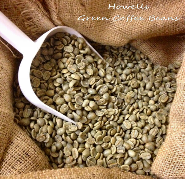 7 lbs Green Coffee Bean Sample Pack 1 pound each of 7 most popular beans