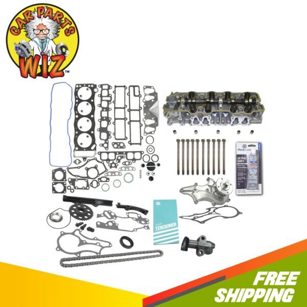 NEW Cylinder Head Timing Water Pump Kit Fits 85-95 Toyota 22R 2.4 SOHC EXC.TURBO