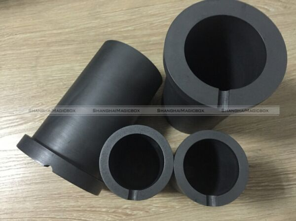 Graphite Crucible 1kg 2kg for Jewelry Electric Melting Furnace