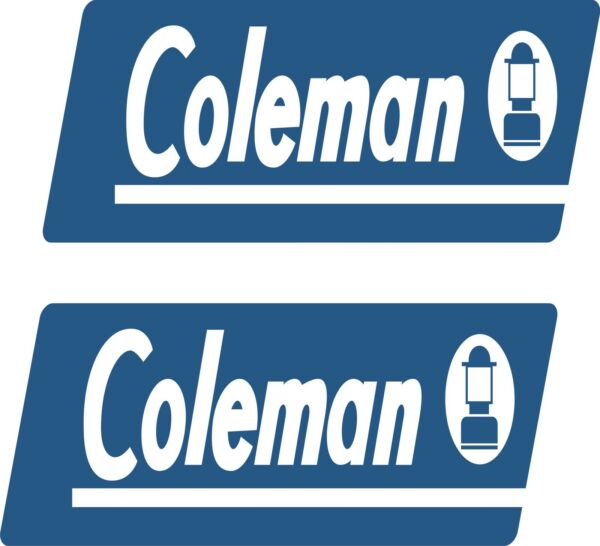 coleman rv camper pop up decal sticker popup decals made in the USA $36.00
