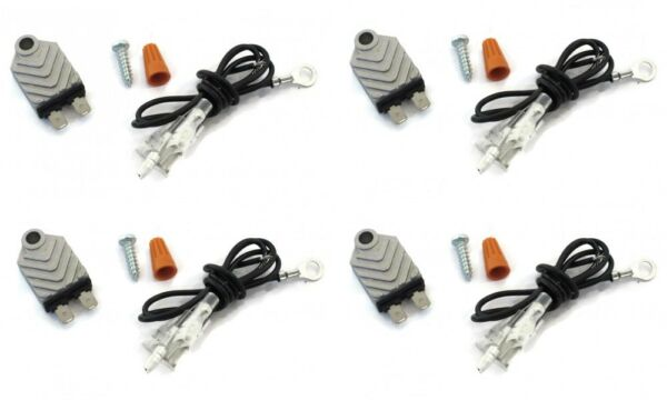 (4) ELECTRONIC TRANSISTORIZED IGNITION MODULE for Snow Blower Thrower