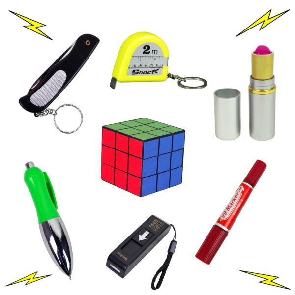 Shocking Toys Electric Shocker Novelty Fake Gag Gift Trick Office Prank Joke Fun