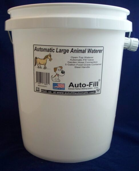 Automatic DOG Waterer Garden Hose Connection Auto Fill Watering Systems $29.99
