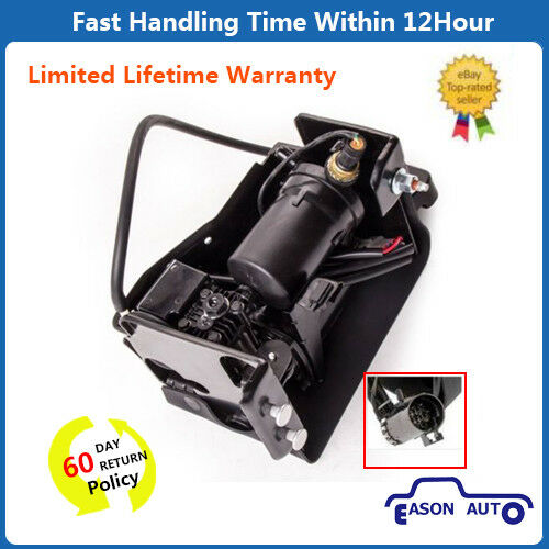 Air Ride Suspension Compressor With Dryer for 00-06 Chevy GMC SUV Truck