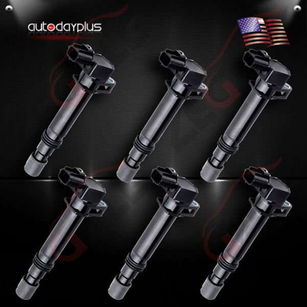 Pack of 6 Ignition Coils for Dodge Jeep Mitsubishi V6 3.7L V8 4.7L UF270 5C1114