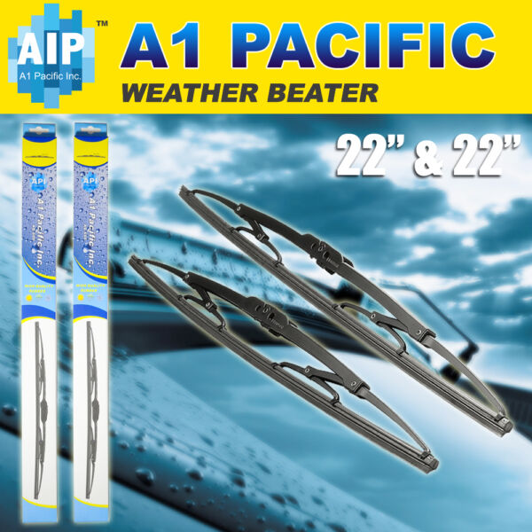 Metal Frame Windshield Wiper Blades J HOOK OEM QUALITY 22quot; amp; 22quot; INCH chevrolet