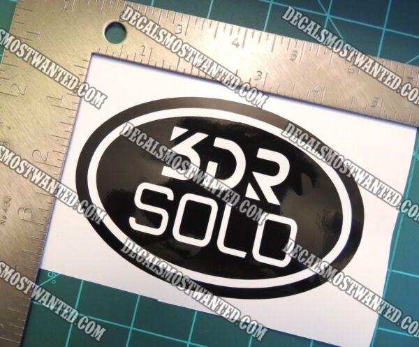 3DR SOLO drone Decal Sticker Quadcopter oval UAV FPV Die cut vinyl  5