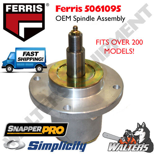 Ferris OEM Spindle Assembly 5061095 for Ferris Simplicity Snapper Pro