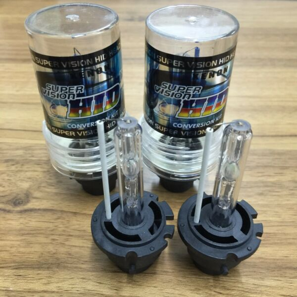 Set of 2 6000K D2S D2R D2C HID Xenon Bulbs Factory Headlight HID Replacement